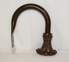 Kirsch Regency Collection 60110094 Weathered Bronze Beaded Trumpet Holdbacks image 2