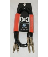 Hosa Technology CPR-405 Pro Stereo Interconnect Dual Quarter Inch TS To RCA - $13.99