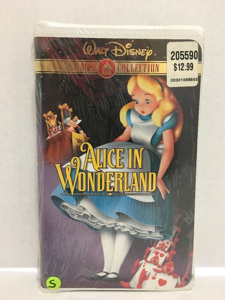 Primary image for Alice in Wonderland (VHS, 2000, Gold Collection Edition)