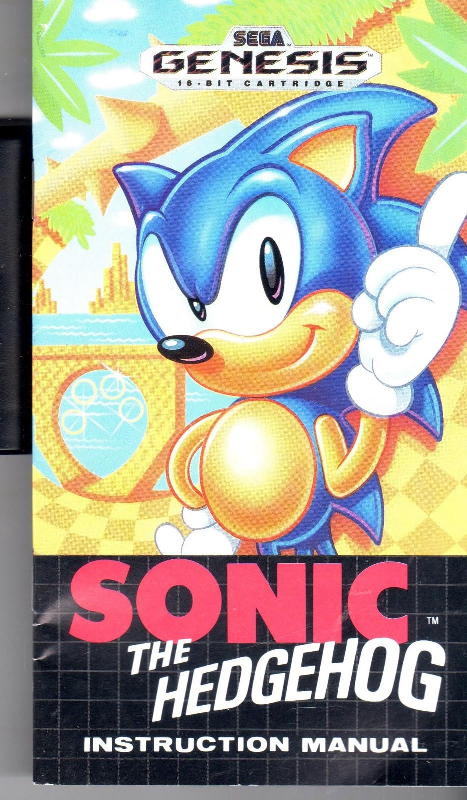 Sega Genesis Sonic The Hedgehog 1991