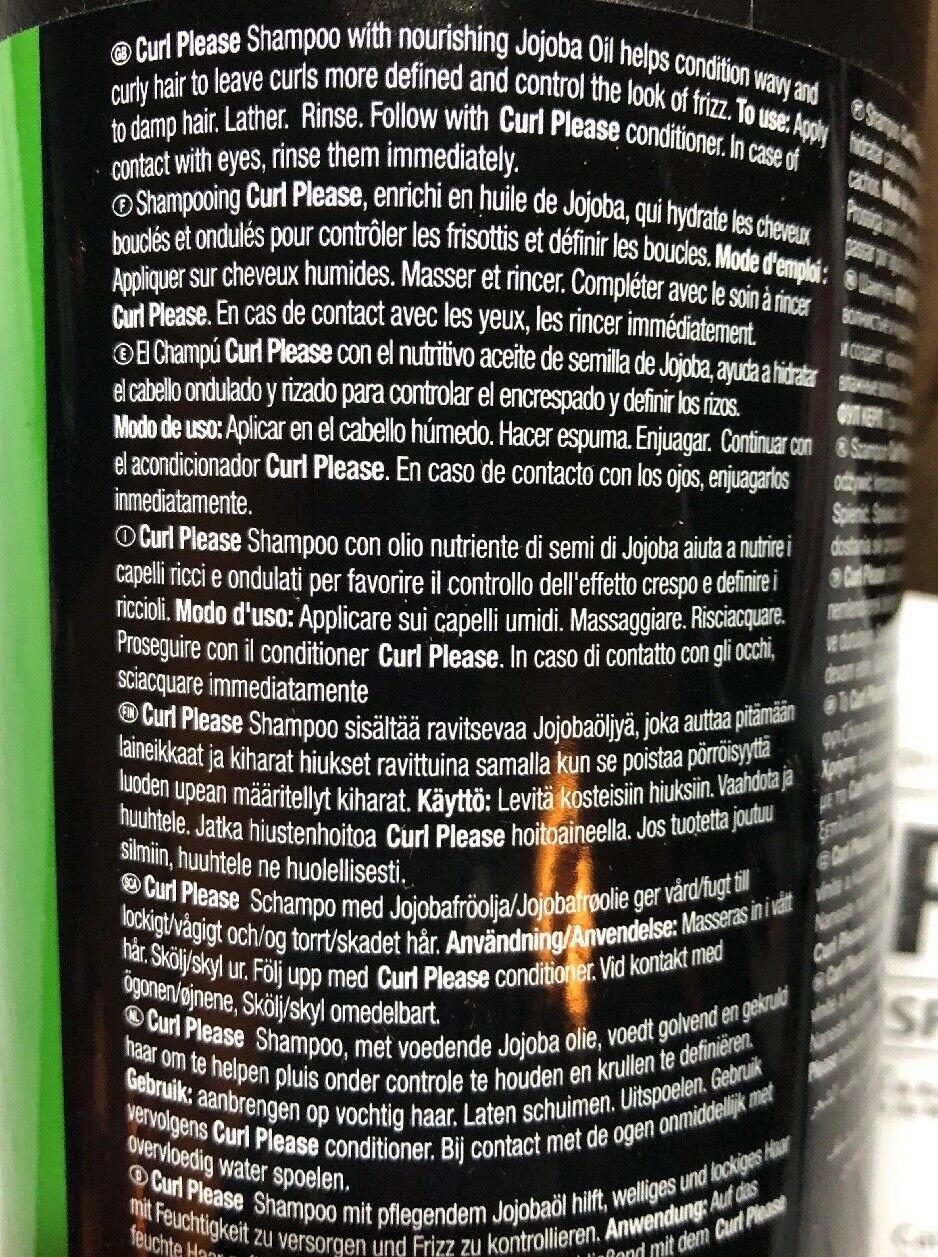 MATRIX Total Results Curl Please Jojoba Oil Shampoo JUMBO 1000ml/33.8oz