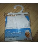 Large Christening Socks - $6.29