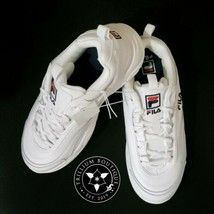 Fila Women's White Disarray Athletic Style Casual Shoes Size: 11 New in Box!! - $79.17