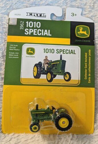 John Deere TBE45923 ERTL 1962 1010 Special Die Cast Metal Replica