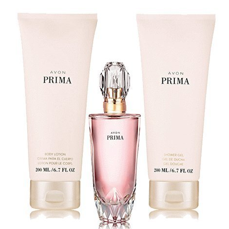 Primary image for Avon Prima 3 piece fragrance set for women