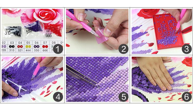 Beauty Girl  Diamond Painting  5 D Home Dector Mosaic Needlework  Diamond 2020