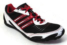 ADIDAS XCS W WOMEN'S BLACK/RED TRACK AND FIELD RUNNING SPIKE SHOES, #G00512 - $39.99