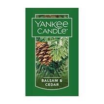 12 new yankee candle classic car jar air freshener balsam & cedar scent - $26.00