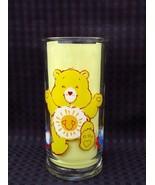 """Vintage 1983 Funshine Bear  Care-bear Pizza Hut Glass 6"""" - $12.00"""