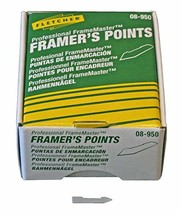 Fletcher-Terry Co Framers Stacked Points 08-950, Silver, 5/8 in - $18.35