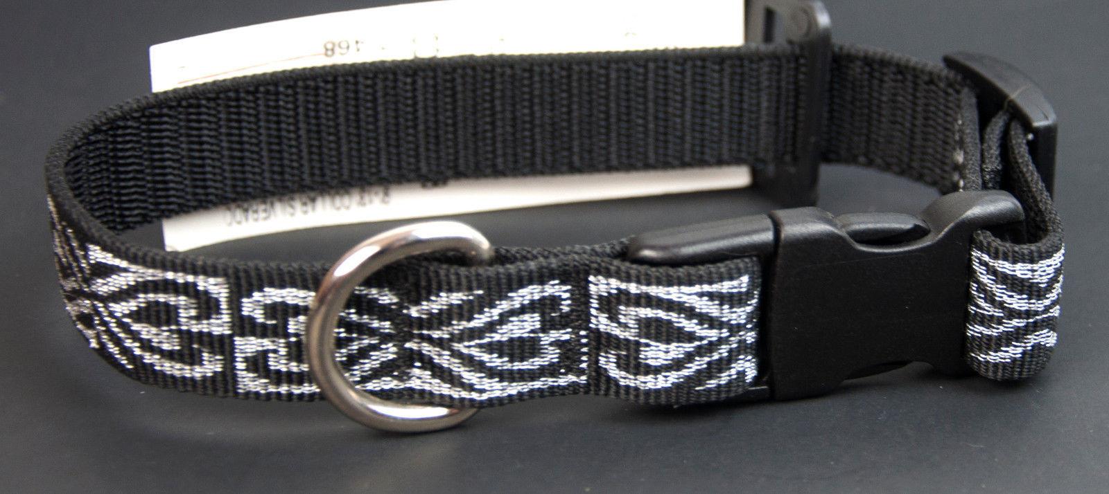 "Lupine Dog Collar  Adjustable 9-13""  ""Silverado"" - $9.65"