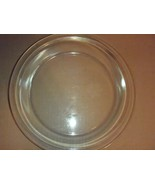 """VINTAGE PYREX 211 CLEAR GLASS 11""""  PIE PLATE DISH LARGE HOLIDAY SIZE - $23.36"""