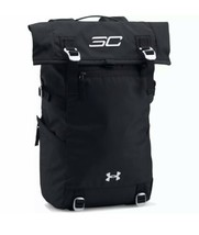 Under Armour Steph Curry SC Signature Rolltop School Gym Black Silver Backpack - $103.95