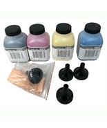 4 Toner Refill Set for Brother TN-221 TN-225 HL-3140CW HL-3170CDW with Funnels - $19.80