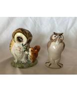 Porcelain Owls Figurines Beswick England Unique Beatrix Potter's and Wal... - $79.19
