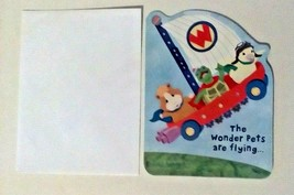 American Greetings Kid Squad Wonder Pets Are Flying Birthday Card - $2.94