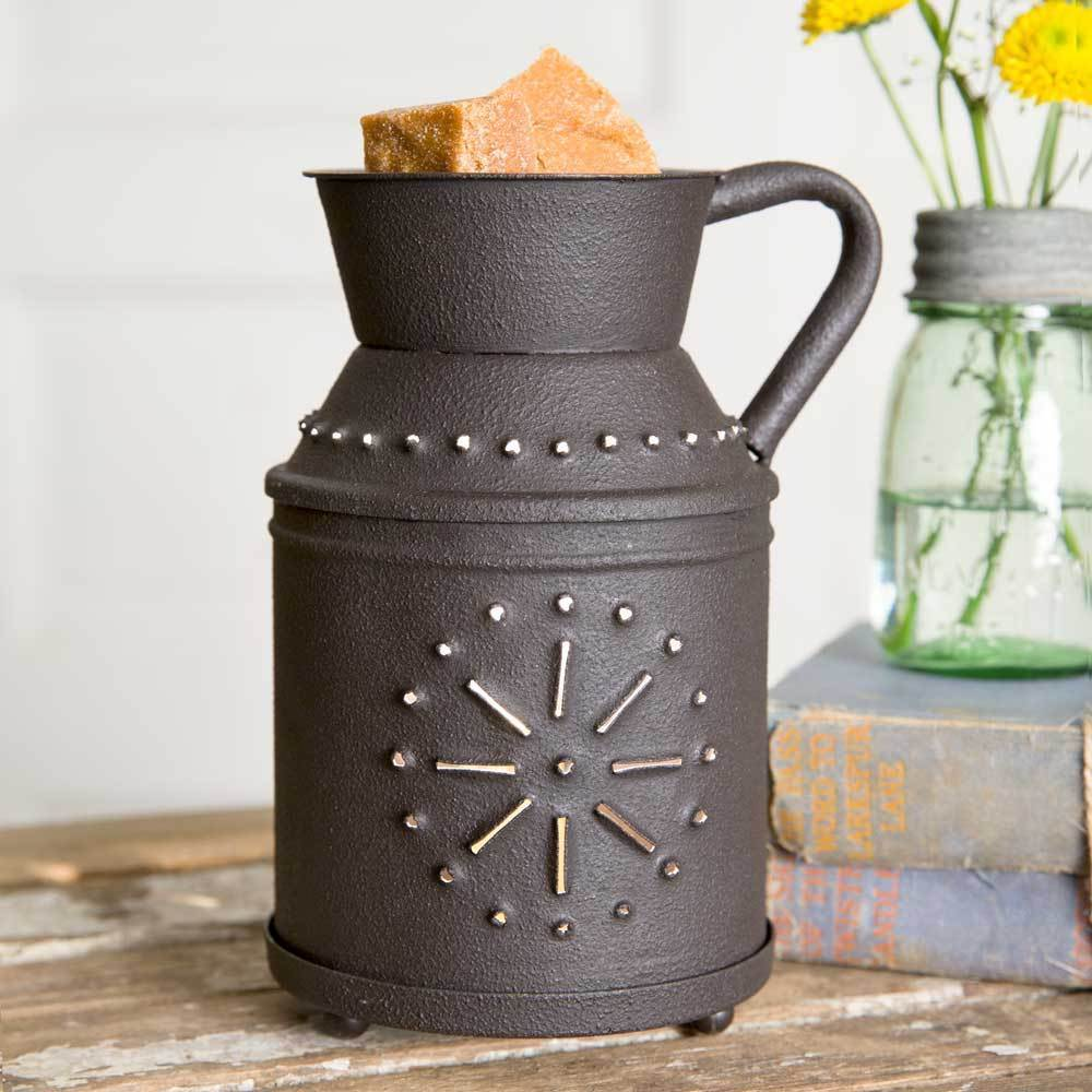 Primary image for Country Farmhouse Milk Jug Electric Wax Tart Potpourri Warmer w/Bulb Included