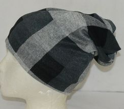 Howards Arianna Collection Buffalo Plaid Convertible Hat Adult Grays image 3