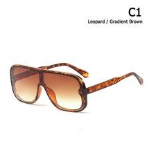 JackJad 2019 New Fashion Cool Shield Style Gradient Sunglasses Women Vin... - $17.74
