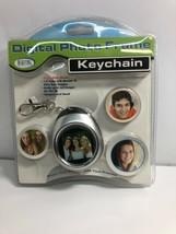 "NEW Digital Concepts 1.5"" Digital Photo Frame Keychain Item#12690 - $9.04"