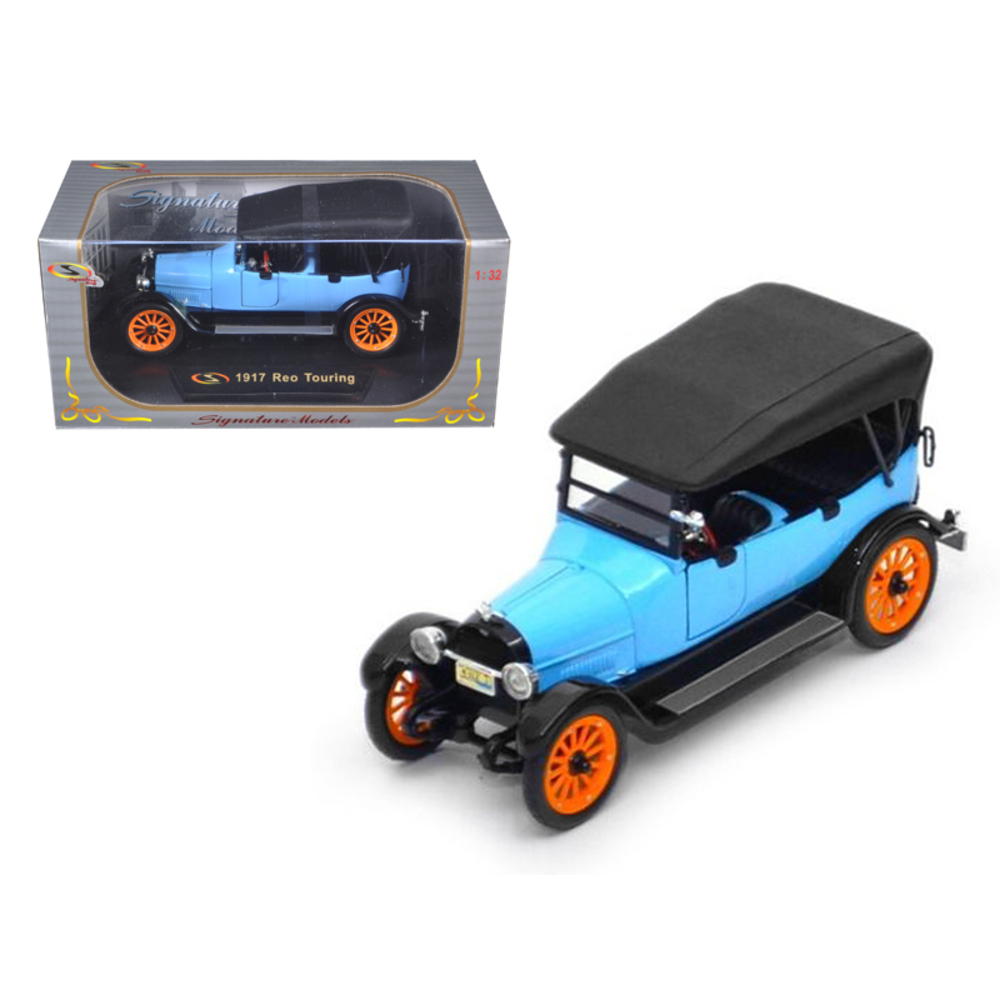 1917 Reo Touring Blue 1/32 Diecast Model Car by Signature Models 32305bl