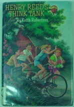 Henry Reed's Think Tank 1st Edition hcdj Keith Robertson Great Series! - $18.00