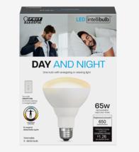 FEIT Electric DAY & NIGHT Intellibulb LED Smart Bulb Color Changing 65 Watt BR30 - $16.99