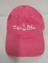 Salt Life Womens Baseball Hat Pink Adjustable Snap Back Cotton Embroider... - $13.99