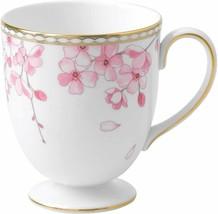 WEDGWOOD Spring Blossom Mug Cup Leigh Shape Bone China Mica Japan New Tr... - $144.93