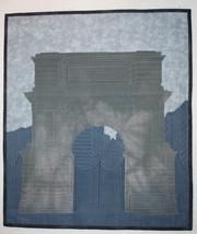 Fusiliers Arch Dublin Ireland ~ Art Quilt - $600.00