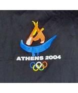 Olympics Tee Shirt Athens 2004 Black Rings Logo Size XL - $15.73