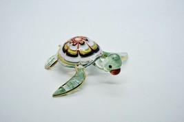 Turtle Murano Hand Blown Hand Craft Glass Aquarium Figurine Collection G... - £25.94 GBP
