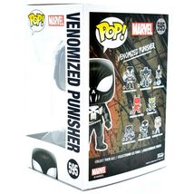 Funko Pop! Marvel Venom Venomized Punisher #595 Bobble-Head Vinyl Action Figure image 3
