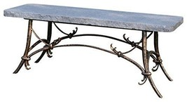 Stone Age Creations BE-TU-CHR Tuscany Granite Bench Charcoal - $1,553.99