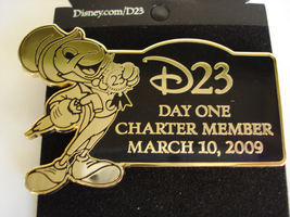 Disney D23 Pin Jiminy Cricket Day One Charter Member First 2009 - $25.99