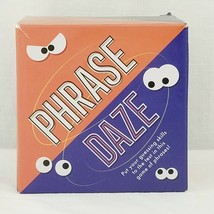 Phrase Daze Guessing Card Game of Phrases Ages 8+ Professor Puzzle - $11.99