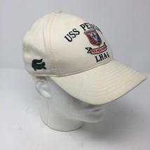 VTG USS Peleliu LHA-5 Cream Hat Officer of the Deck OOD Navy USN Naval Ship - $48.70