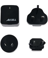 ACCELL D080B-023K Home or Away Dual-USB Charging Kit with International ... - $41.44