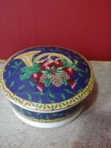 MIKASA UT076/683 Holiday Music Round Covered Box (Christmas FrenchHorn&P... - $19.74 CAD