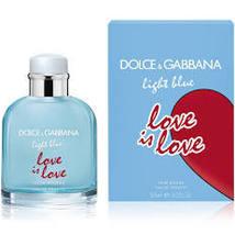 Dolce & Gabbana Light Blue Love is Love Cologne 4.2 Oz Eau De Toilette Spray image 1
