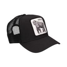 Goorin Bros Snapback Mesh Cap Gorilla Black King Of The Jungle Trucker Hat