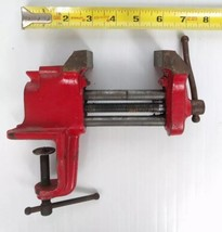 "Vintage Clamp-on Table Bench Vise 2.5"" Jaws  - $34.00"