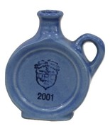 "Blue Uhl Jug Can teen 2001 4"" Huntingburg, IN w/ Official Stamp - $39.95"