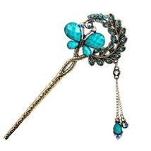 Retro Hair Decor Hair Stick Chinese-style Traditional Tassels Hair Clip Hair Pin - $11.54