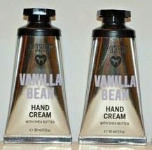 2 Victoria's Secret PINK Vanilla Bean Hand & Body Cream w/ Shea 1 fl oz - $13.29