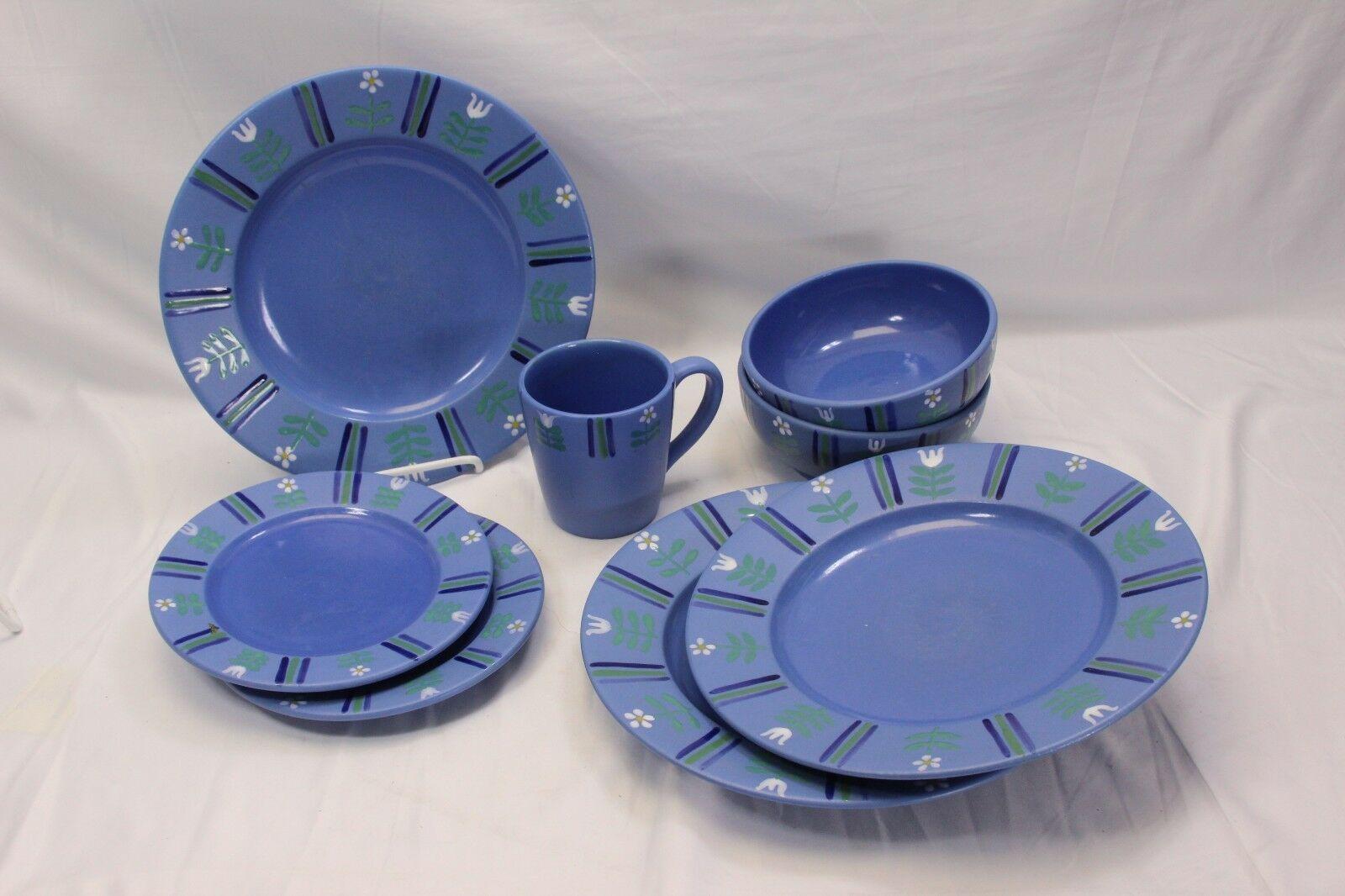Studio Nova Flora Blue Lot of 8 - $50.95