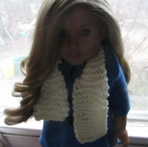 Handmade Knit Scarf for American Girl/18 Inch Doll - $3.75