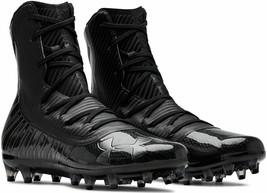 New Mens 9.5 Under Armour cleats black football Highlight MC 3021478-004 - $97.99