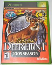 Xbox - Cabela's DEER HUNT 2005 SEASON (Complete with Manual) - $8.00
