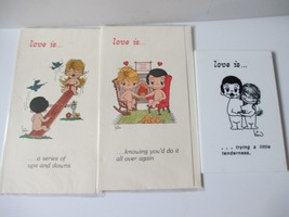 Vintage UFS 1970 Kim Love is Greeting Cards & Plaque - $12.86